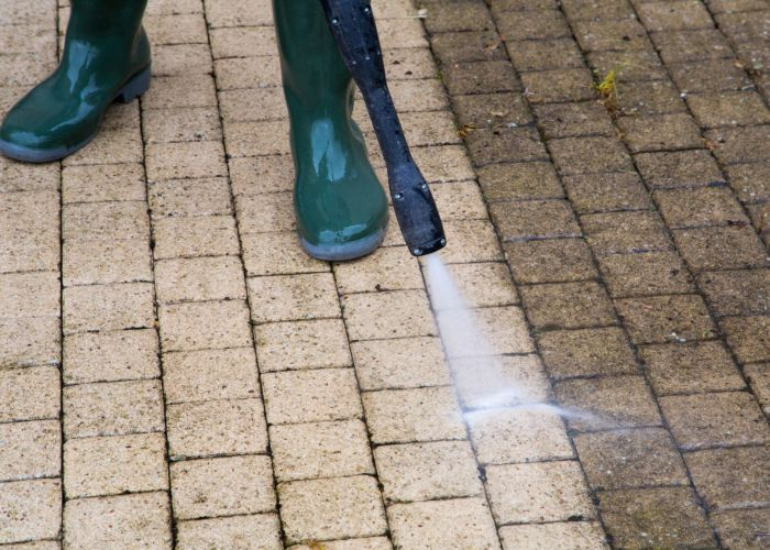 patio and driveway pressure washing ri