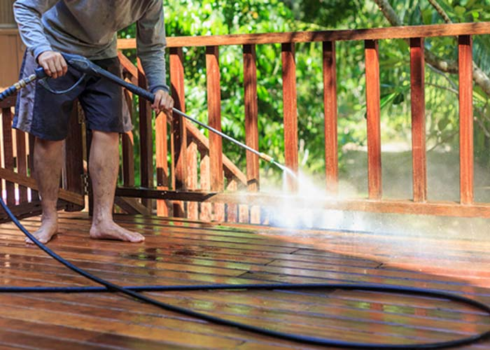 deck power washing ri